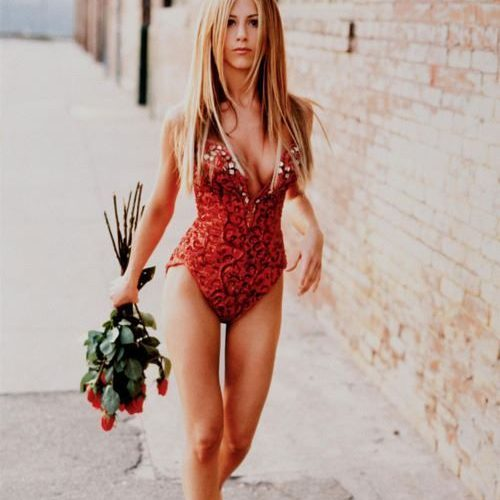 aniston amazing body and measurements - how she does it